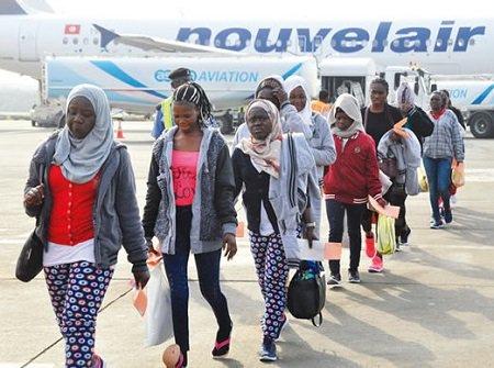 158 Nigerians Return From Libya
