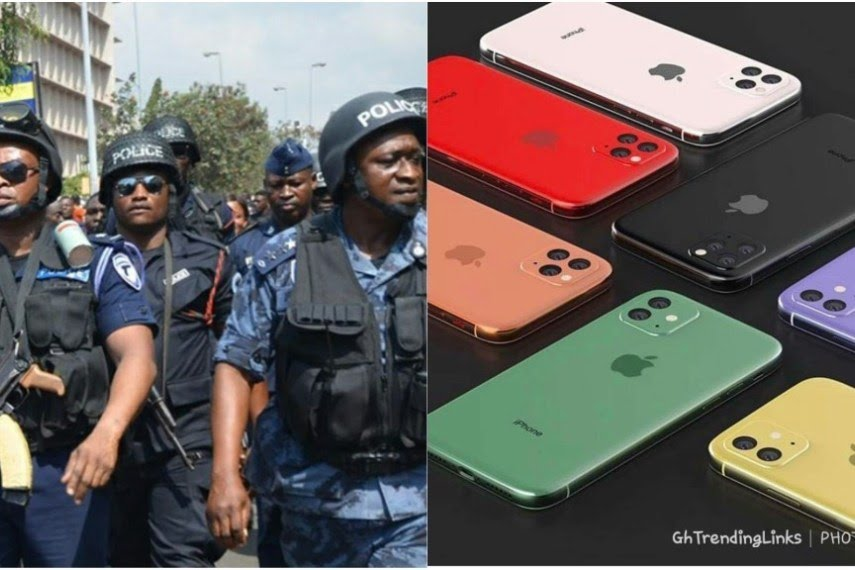 Ghanaian Police Threatens To Arrest Any Boy Seen With iPhone 11 Before December