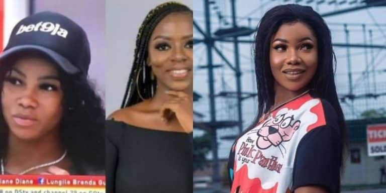 #BBNaija: You Can't Talk To Me Outside Big Brother – Tacha Blasts Diane (Video)