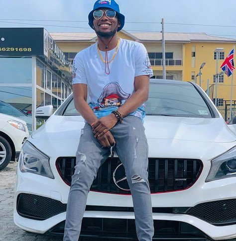 Victor AD Finally Acquires A Brand New Mercedes Benz (Photos)