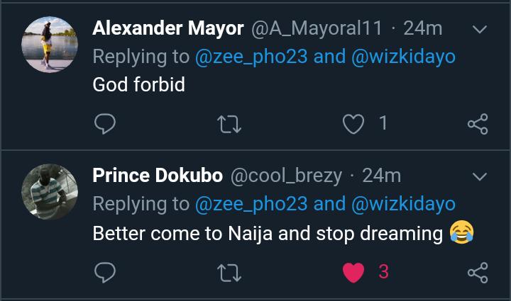 Wizkid's Female Fan Begs Him To Hold Starboy Fest In South Africa, Nigerians Shun Her (Photos) 18