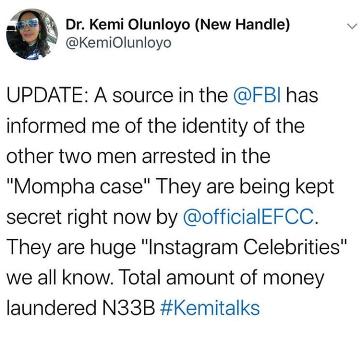 Two Celebrities Connected To Mompha ARRESTED
