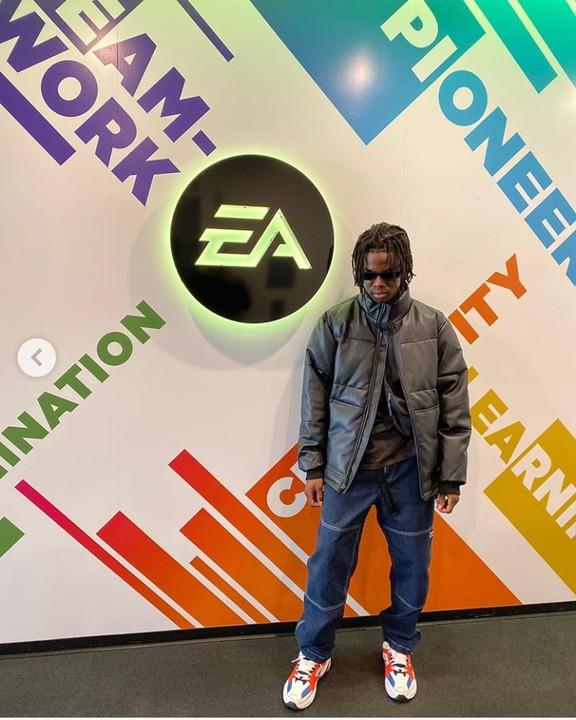 Don Jazzy, Rema In EA Sports Centre (Photos) 5