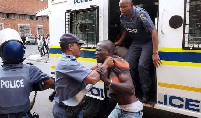 100 Persons Protesting Against Xenophobia Arrested By South African Police