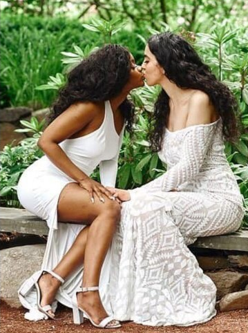 Muslim And Christian Lesbian Couple Get Married (Photos) 5