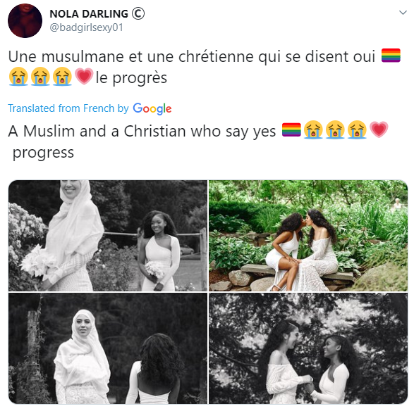 Muslim And Christian Lesbian Couple Get Married (Photos) 6