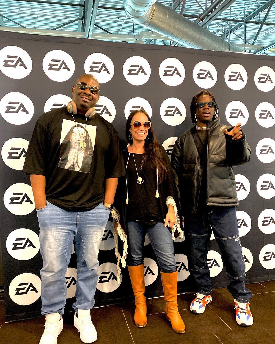 Don Jazzy, Rema In EA Sports Centre (Photos) 6