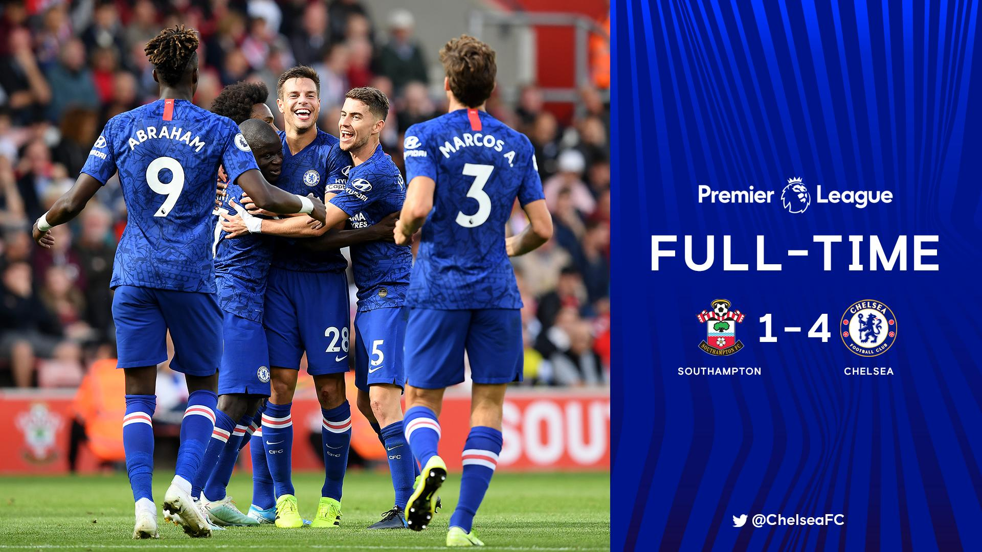Southampton 1–4 Chelsea — Premier League Highlight Video