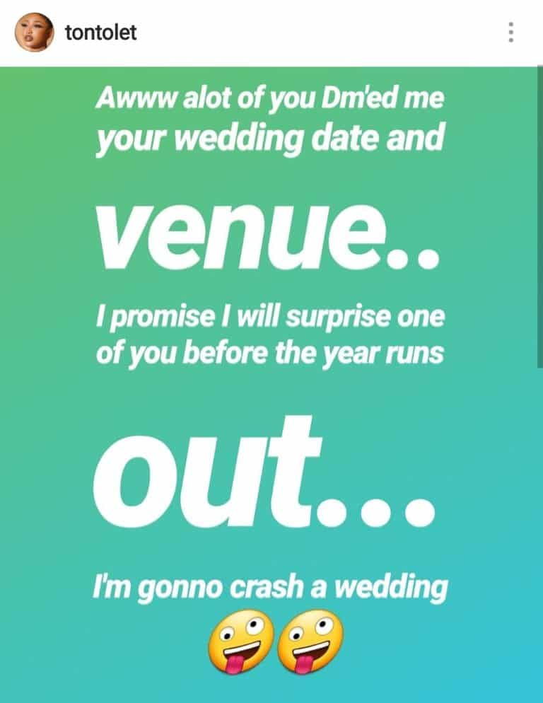 Tonto Dikeh Promises To Attend The Wedding Of One Of Her Fans 5