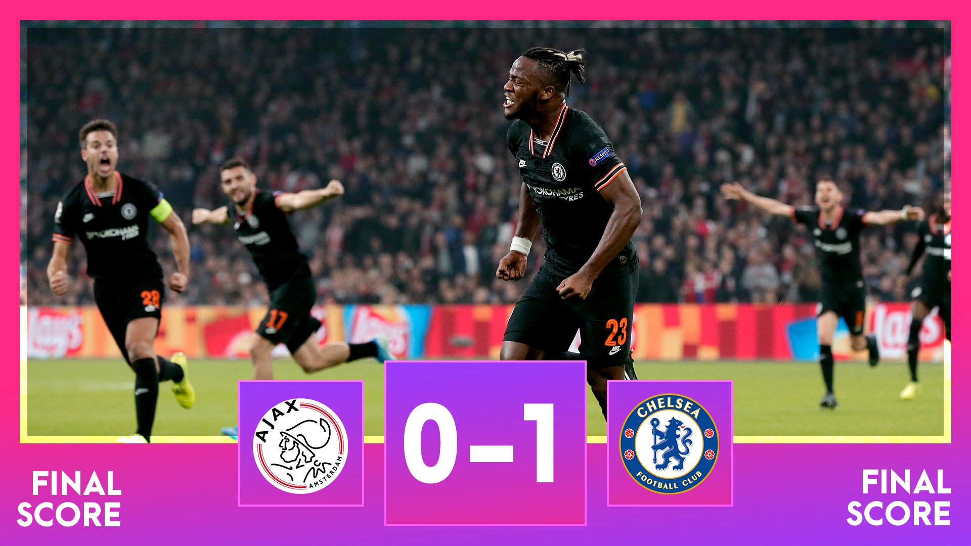 Ajax 0–1 Chelsea — Champions League Highlight Highlight Mp4 Download