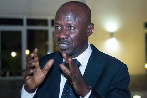 EFCC Acting Chairman, Ibrahim Magu Arrested By DSS