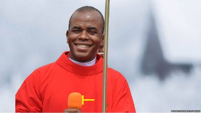 """Don't Blame Hausas, Obiano Should Resign"" — Father Mbaka On Anambra Fire"
