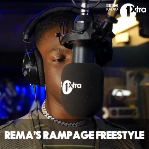 Rema Rampage Freestyle Mp3 Download