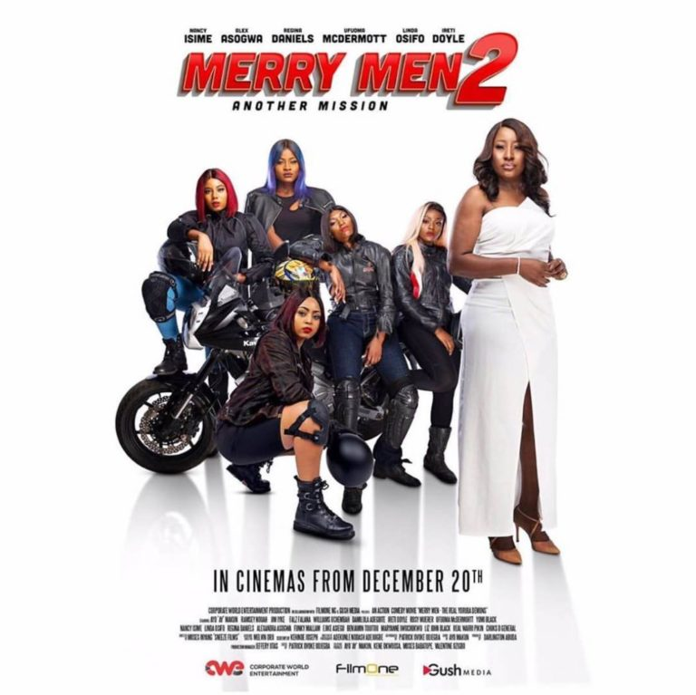 Regina Daniels And Alex Unusual To Deal With AY And Friends In 'Merry Men 2' 13