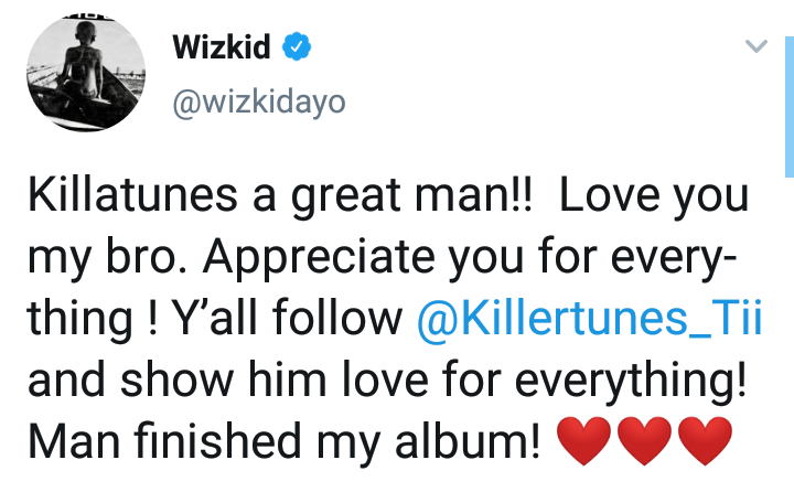 Wizkid's Producers Northboi And Killertunes At War Over 'Joro' Production Credit