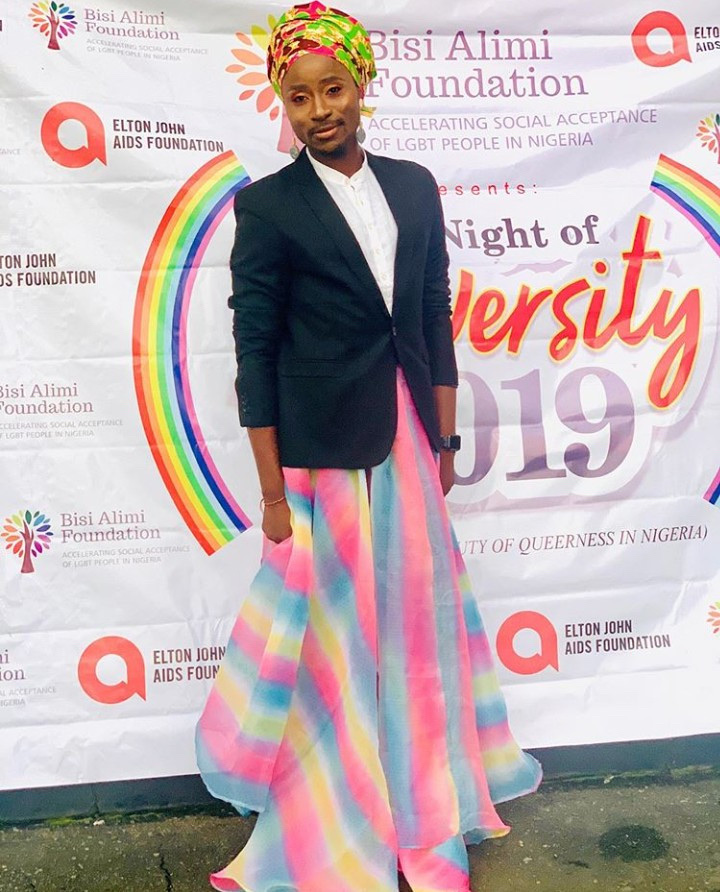 Bisi Alimi Pictured At The First Ever LGBT Pride Event In Lagos 10