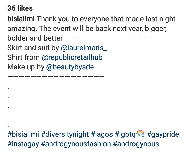 Bisi Alimi Pictured At The First Ever LGBT Pride Event In Lagos 11