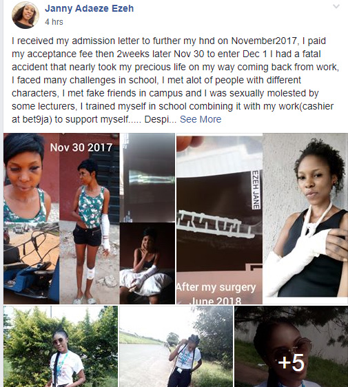 Nigerian Student Allegedly sexually Abused By Lecturers At Federal Polytechnic Nekede 14