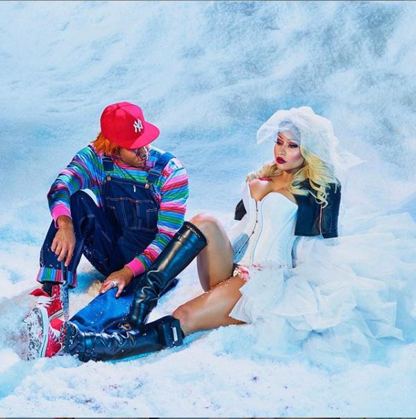 Nicki Minaj Flaunts $1.1million Wedding Ring 29
