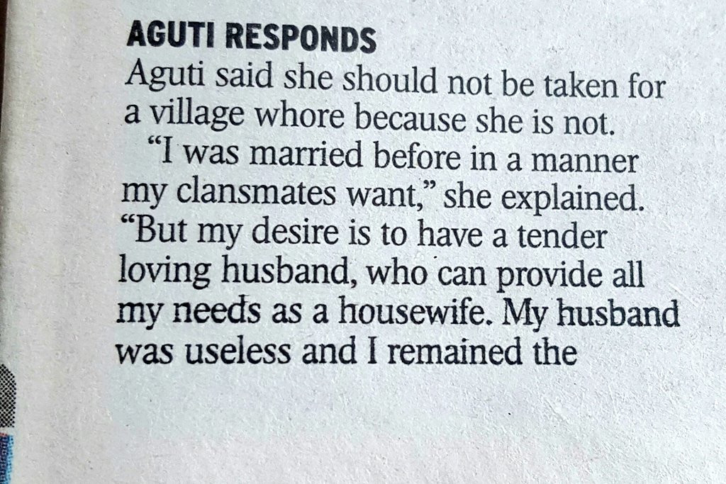 A Woman Who Married 3 Husbands Trends On Twitter As She Makes Front Page Of A Newspaper 24