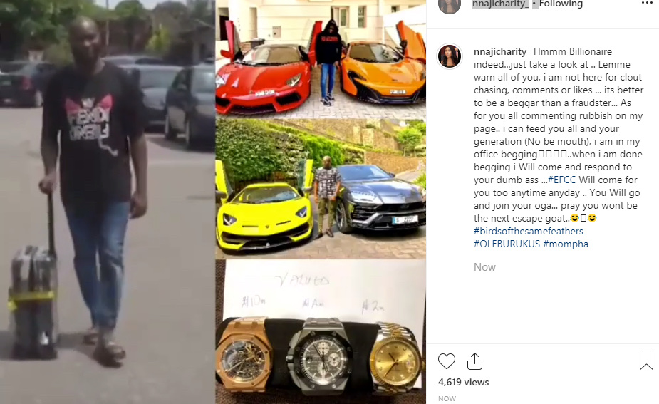 It Is Better To Be A Beggar Than A Fraudster - Actress Charity Nnaji Mocks Mompha 10