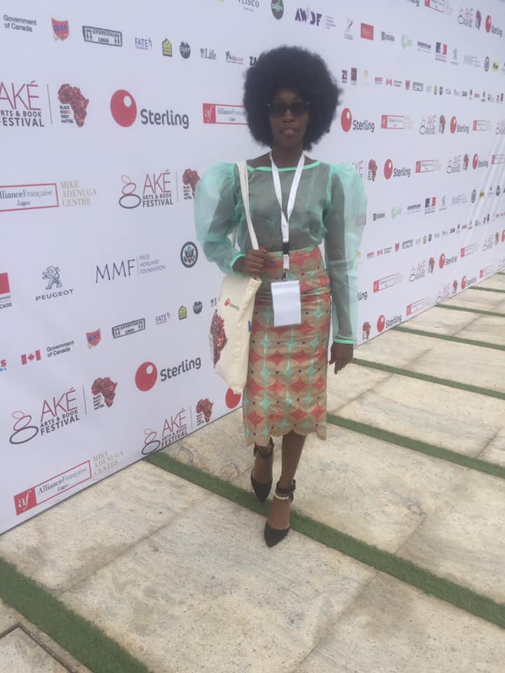 Model,Adetutu Attends Event With Bare Boobs 21