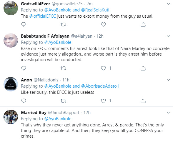 'Where Is The Evidence That He Is Committing fraud?'' Nigerians query EFCC On Mompha's Arrest 17
