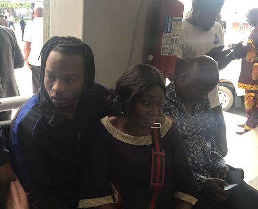Naira Marley Poses In Court With Mother (photo) 12