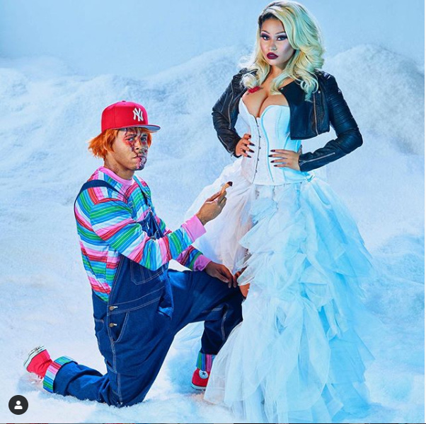 Nicki Minaj Flaunts $1.1million Wedding Ring 37