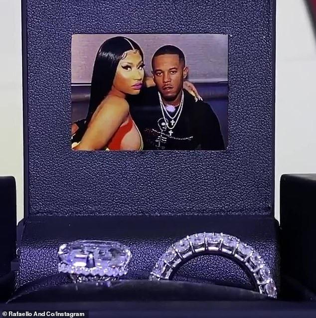 Nicki Minaj Flaunts $1.1million Wedding Ring 38