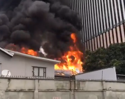 Transcorp Responds To Reports Of Fire Outbreak At Their Ikoyi Building (photos) 13