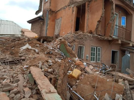 Two Storey Building Collapses In Jos 6