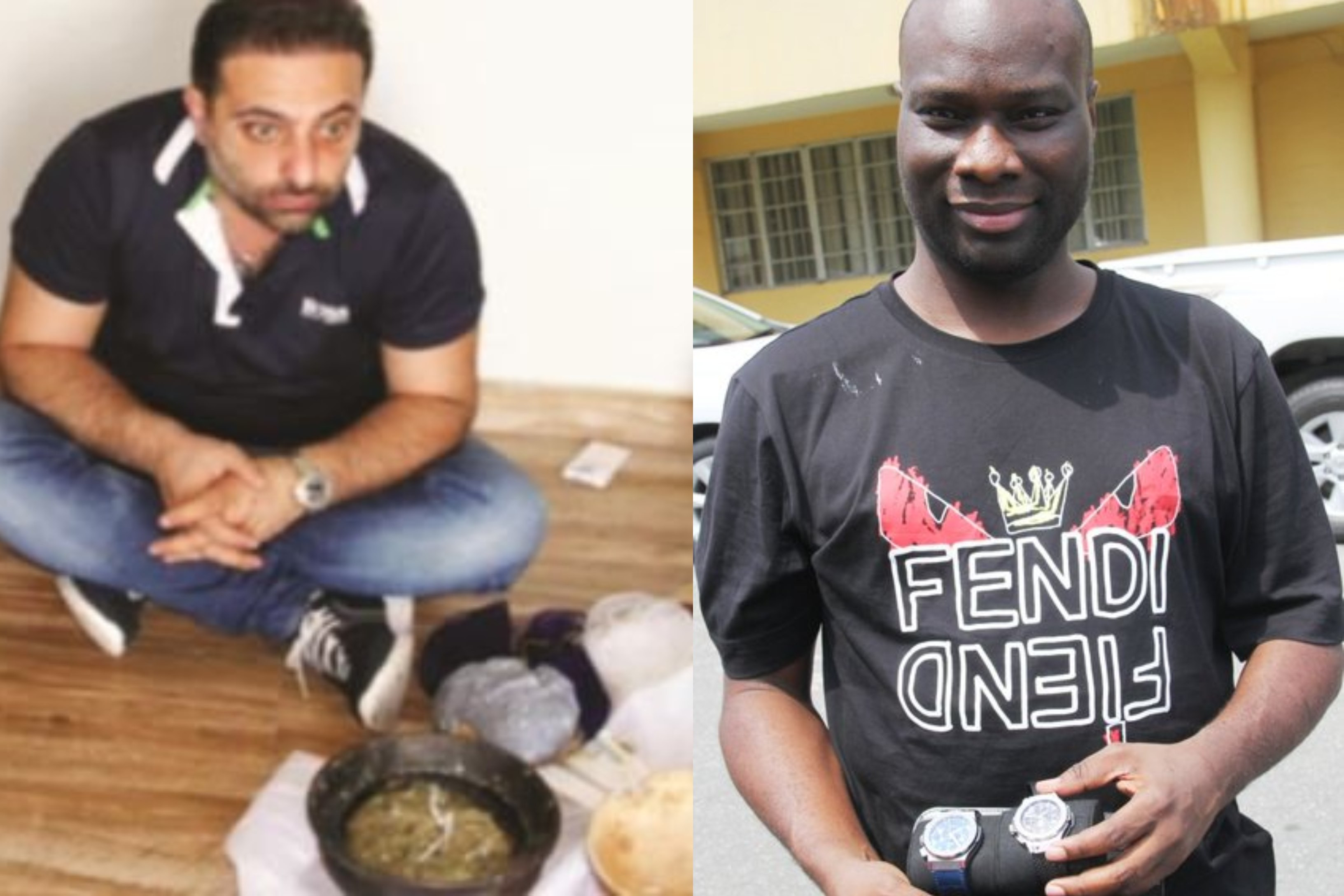 Mompha's Alleged Lebanese Accomplice Arrested In N1.8b Lagos Home With Charms 3