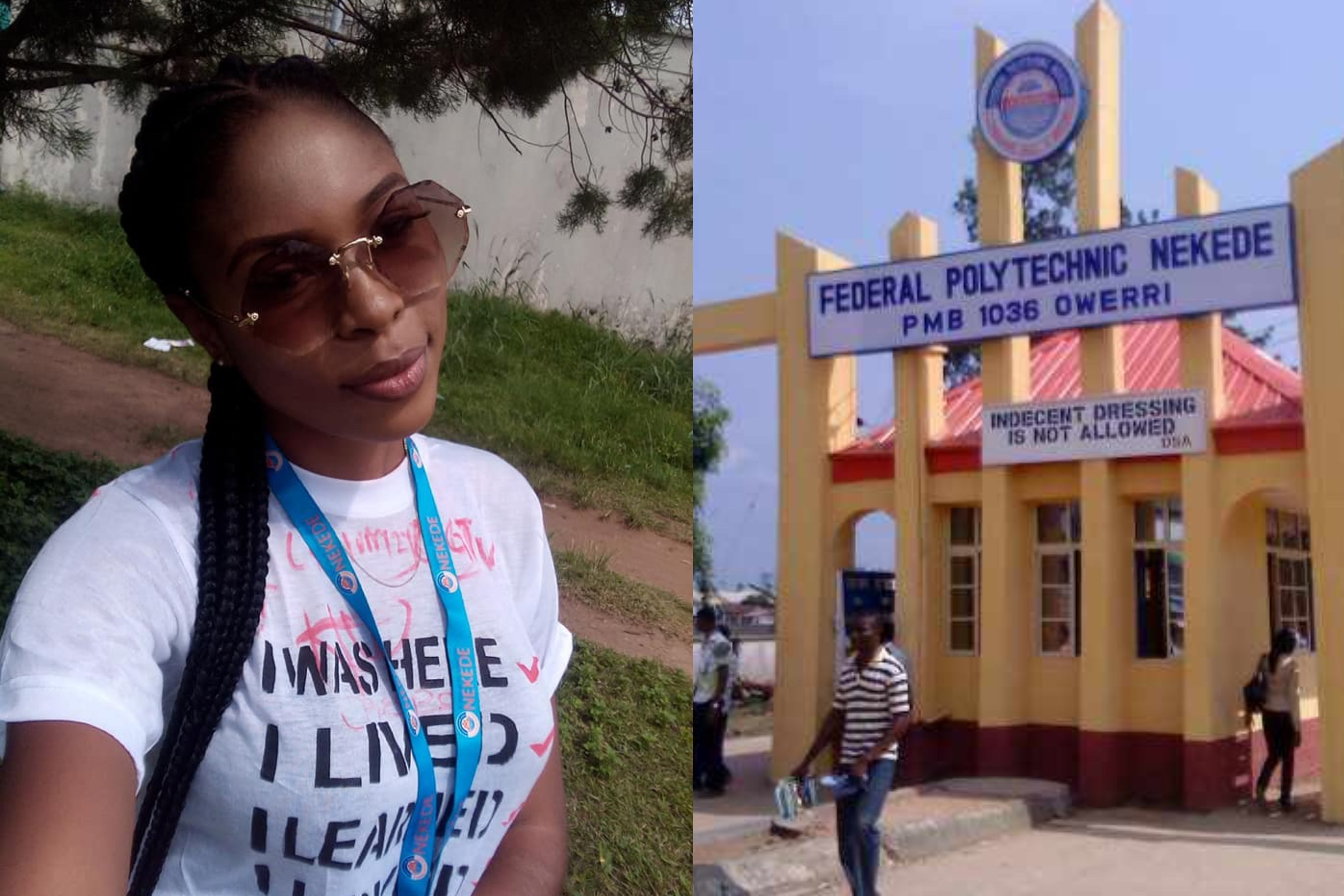 Nigerian Student Allegedly sexually Abused By Lecturers At Federal Polytechnic Nekede 13