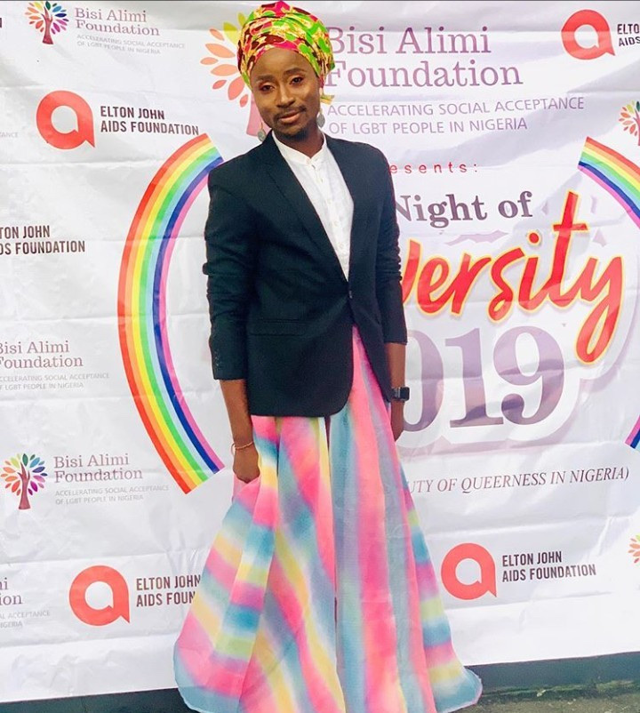 Bisi Alimi Pictured At The First Ever LGBT Pride Event In Lagos 9