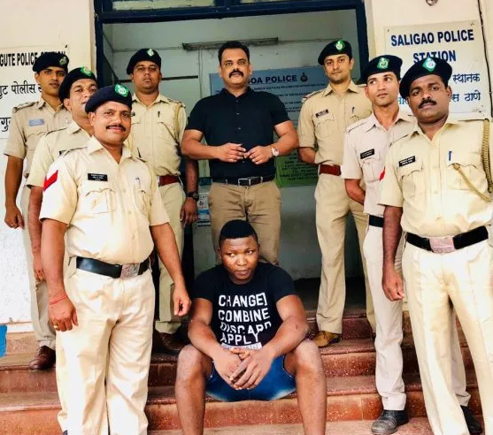 Nigerian Man Ifeanyi Obi Arrested With A Record $400K Drugs In India (Photo) 3