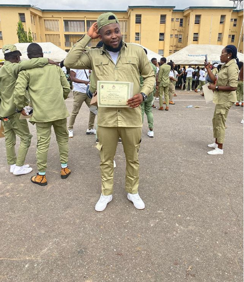 Rapper Chinko Ekun Concludes His NYSC 5