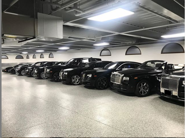 My Garage Is An Indoor Dealership — Floyd Mayweather As He Shows Off His Luxury Cars 9