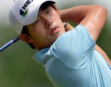 Golfer,Bio kim banned for three years for giving the middle finger to a spectator 5