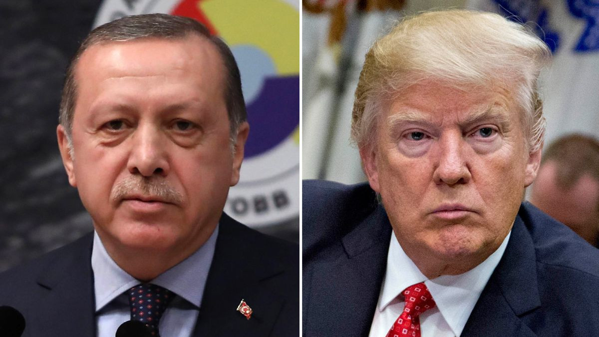 Donald Trump Reacts To Turkish Military Plans To Invade Syria 3