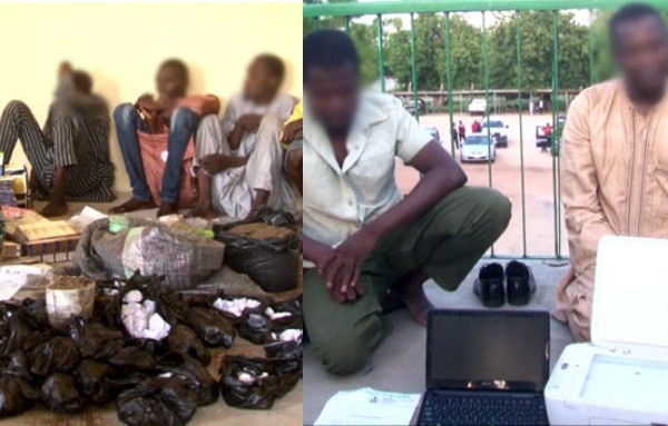 High Profile Drug Lords Arrested In Borno State 3