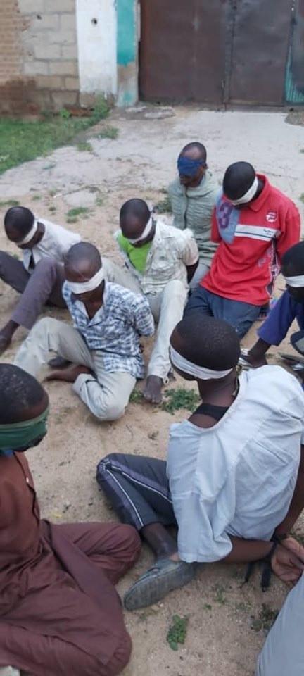 Wanted Boko Haram Members Apprehended In Borno State 9