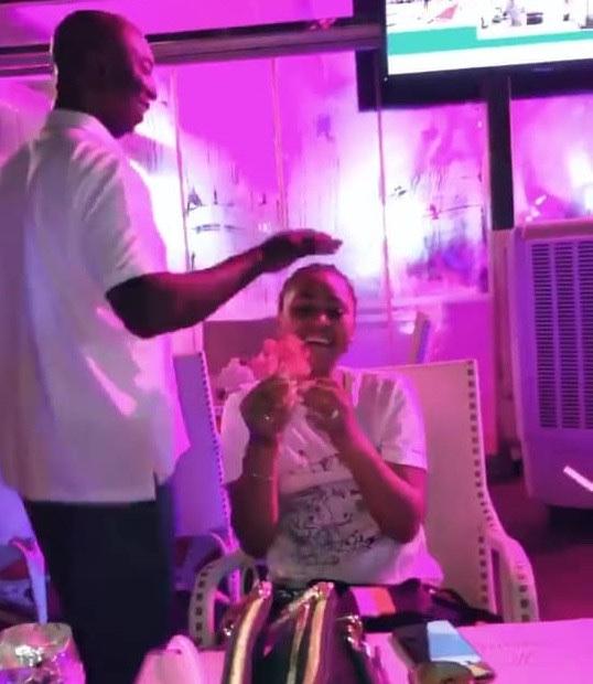 Ned Nwoko Surprises His Wife Regina Daniel On Birthday 6