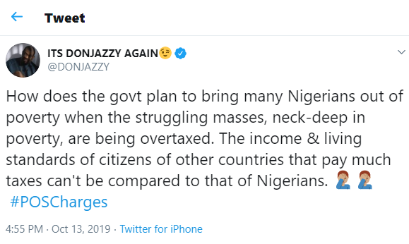 How Will The Masses Come Out Of Poverty After Being Over taxed - Don Jazzy 3