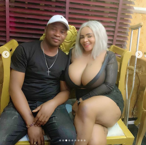 Cossy Ojiakor's Breast Spills Out Her Birthday Outifit 27