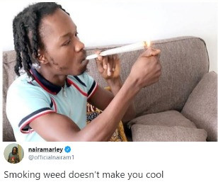 Smoking Weed doesn't Make You Cool - Naira Marley 6