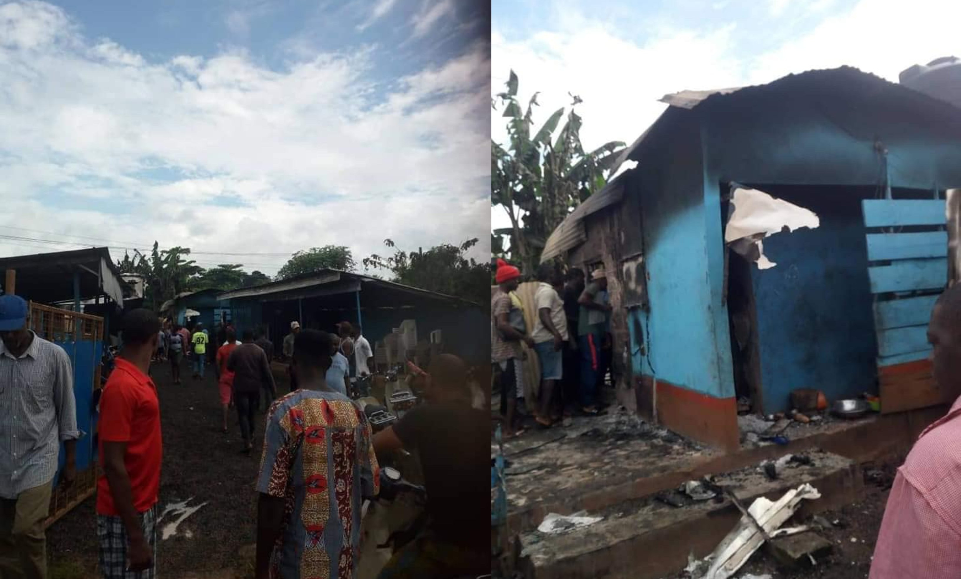 Three Killed In Beer Parlor Fire 3