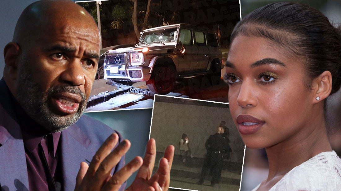 Steve Harvey's Daughter, Lori Arrested For Hit And Run 3