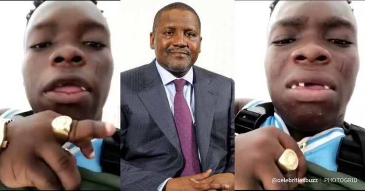 Dangote Speaks After Shatta Bandle Claimed To Be Richer Than Him