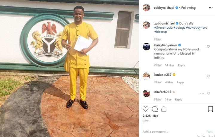 Actor, Zubby Michael Made Special Adviser To Anambra State Governor